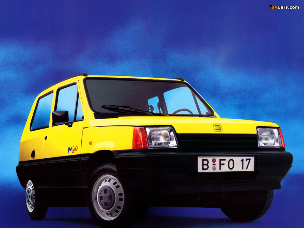 Seat Marbella Mio 1993–94 pictures (1024 x 768)