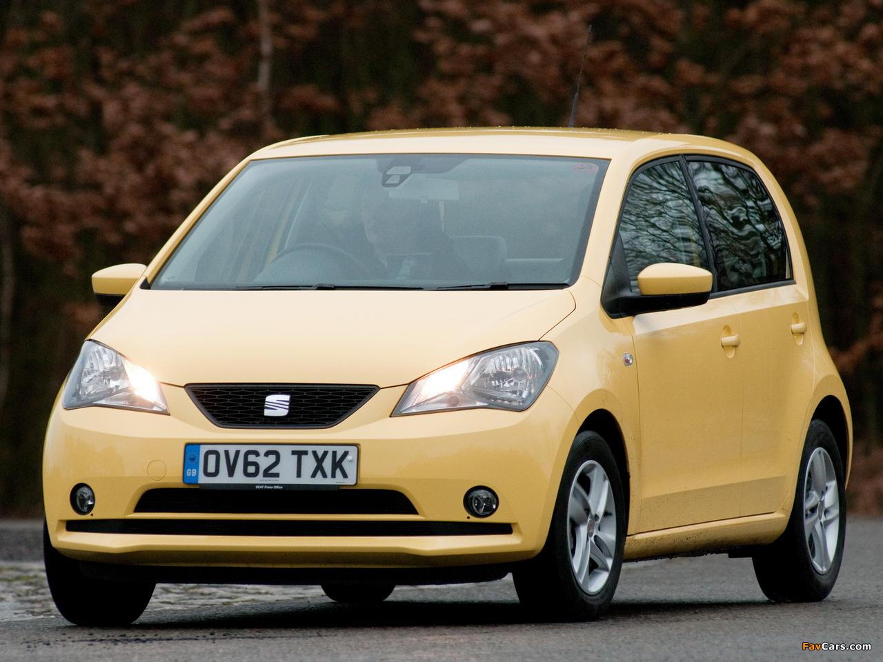 Images of Seat Mii 5-door UK-spec 2012 (1280 x 960)