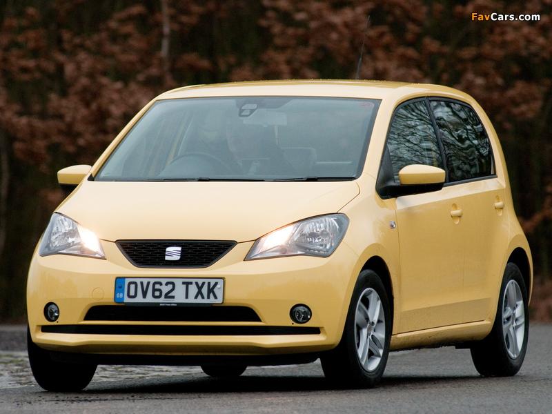 Images of Seat Mii 5-door UK-spec 2012 (800 x 600)
