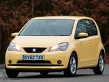 Images of Seat Mii 5-door UK-spec 2012