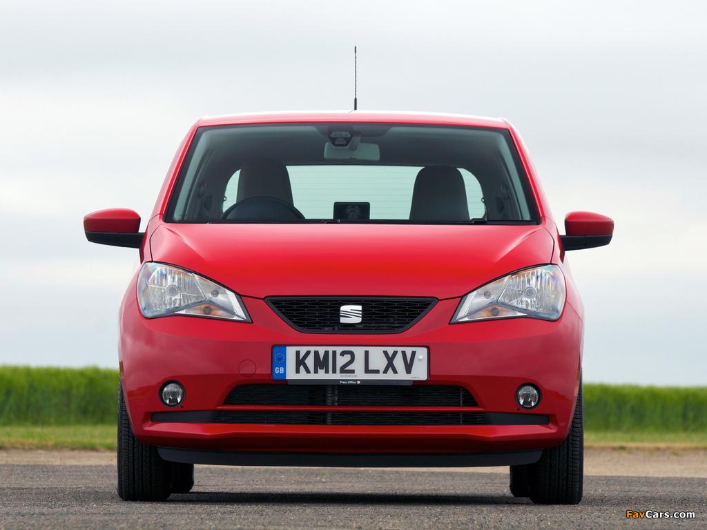 Photos of Seat Mii 3-door UK-spec 2012 (1024 x 768)