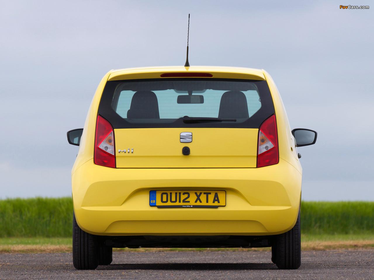 Photos of Seat Mii 3-door UK-spec 2012 (1280 x 960)