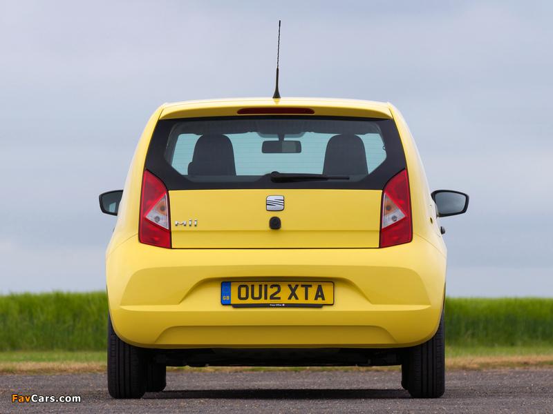 Photos of Seat Mii 3-door UK-spec 2012 (800 x 600)