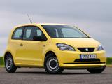 Seat Mii 3-door UK-spec 2012 images