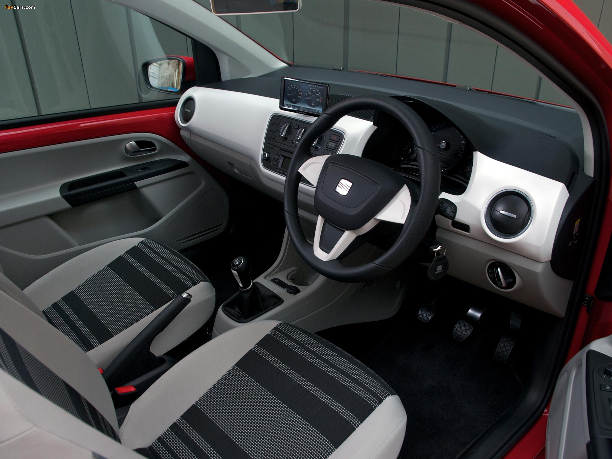 Seat Mii 3-door UK-spec 2012 photos (2048 x 1536)
