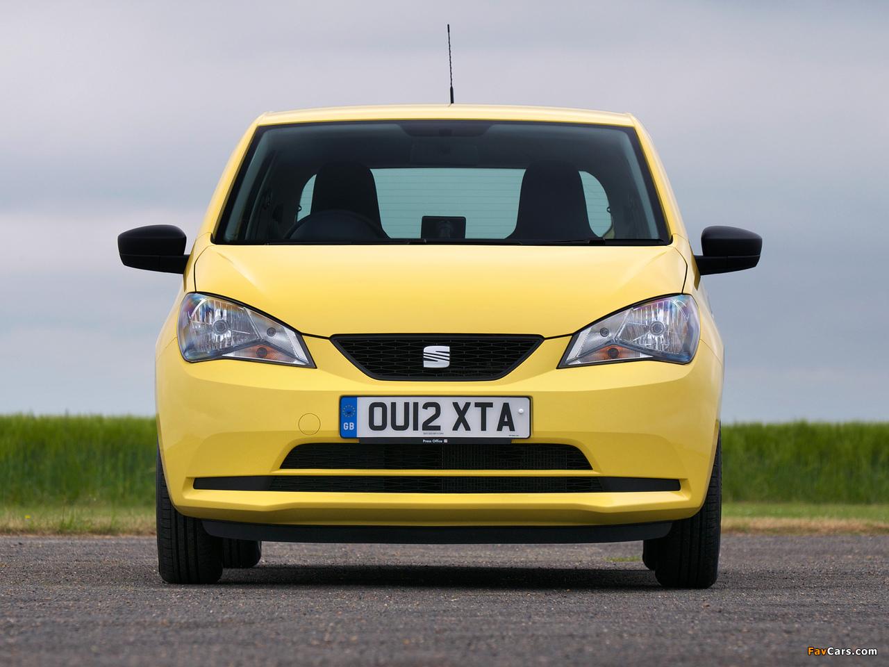 Seat Mii 3-door UK-spec 2012 pictures (1280 x 960)