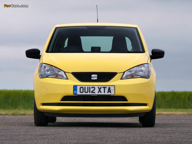 Seat Mii 3-door UK-spec 2012 pictures (800 x 600)
