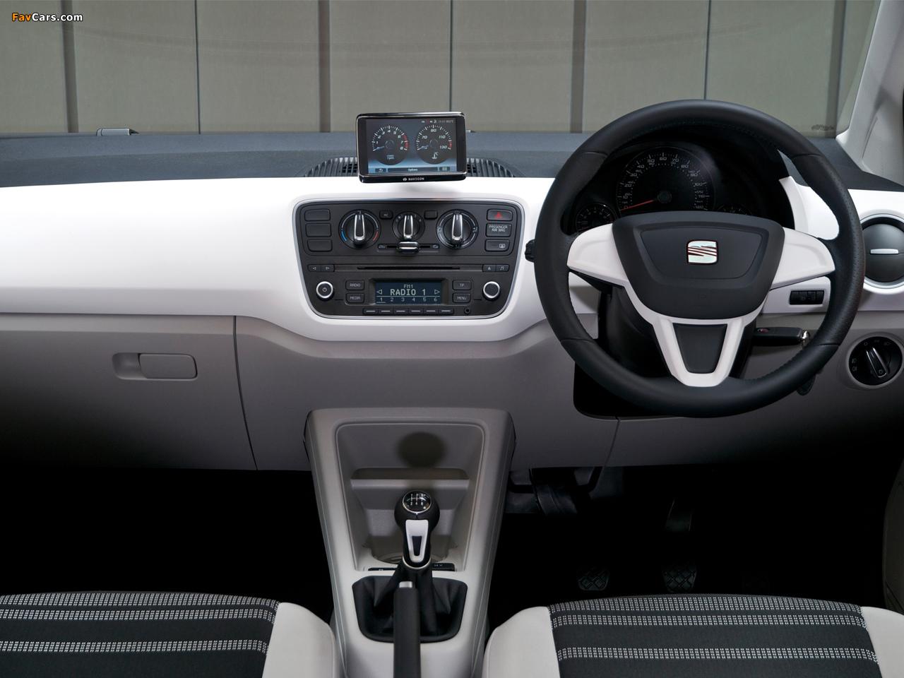 Seat Mii 3-door UK-spec 2012 wallpapers (1280 x 960)