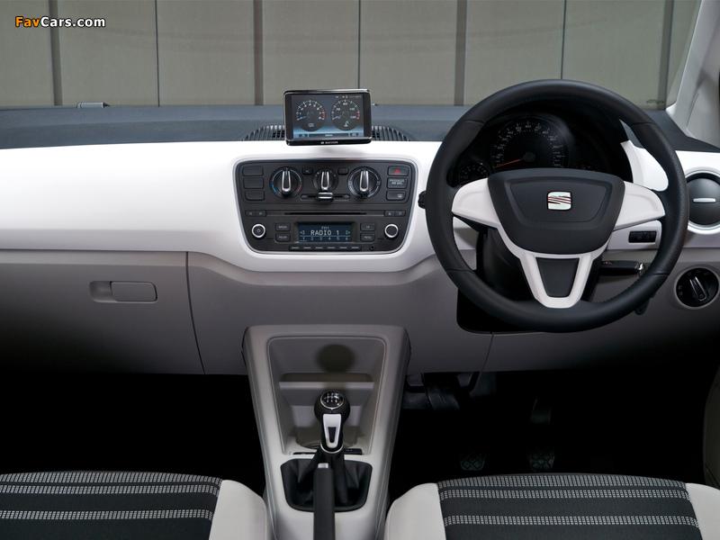 Seat Mii 3-door UK-spec 2012 wallpapers (800 x 600)