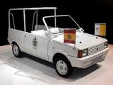 Images of Seat Panda Popemobile 1982