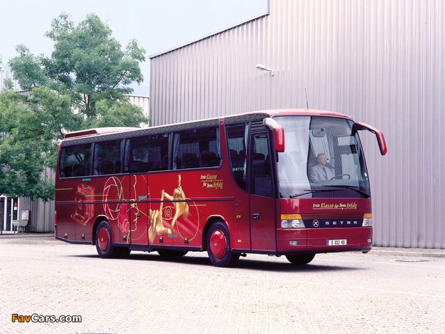 Setra S312 HD 1992–2002 wallpapers (640 x 480)
