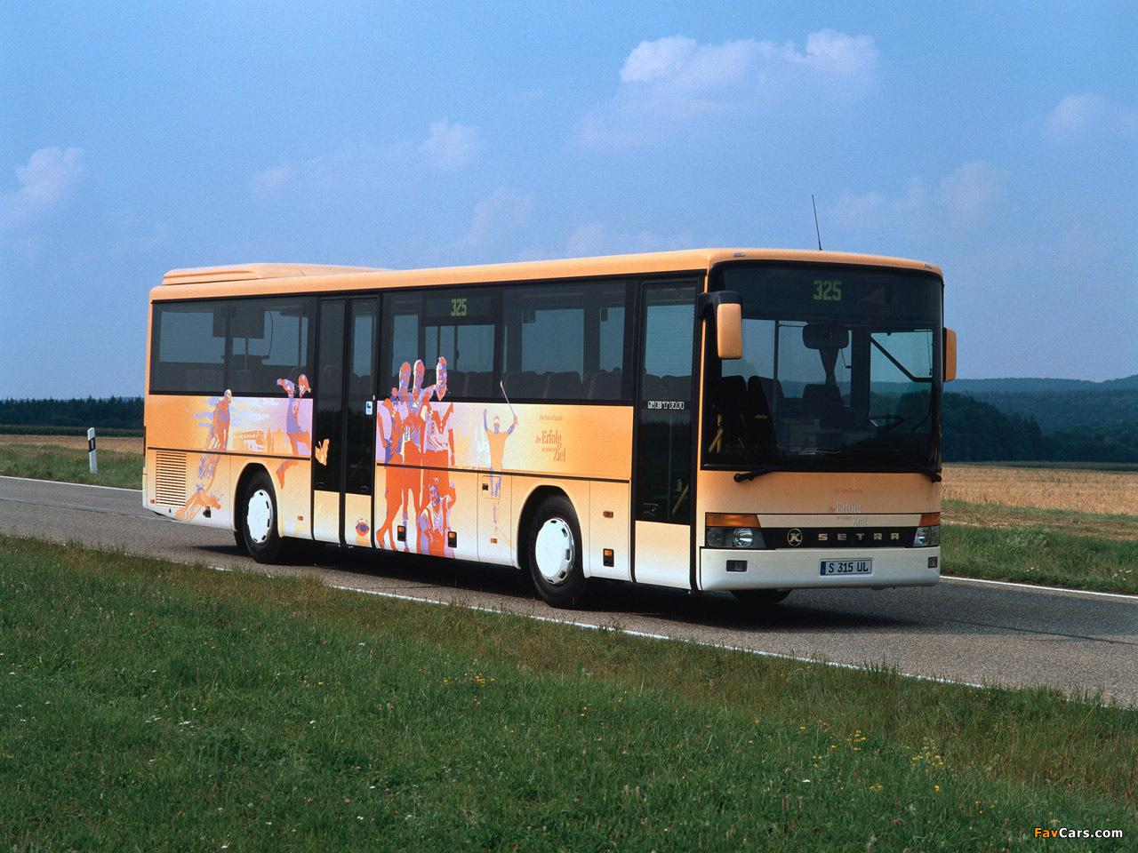 Setra S315 UL 1994–2002 photos (1280 x 960)