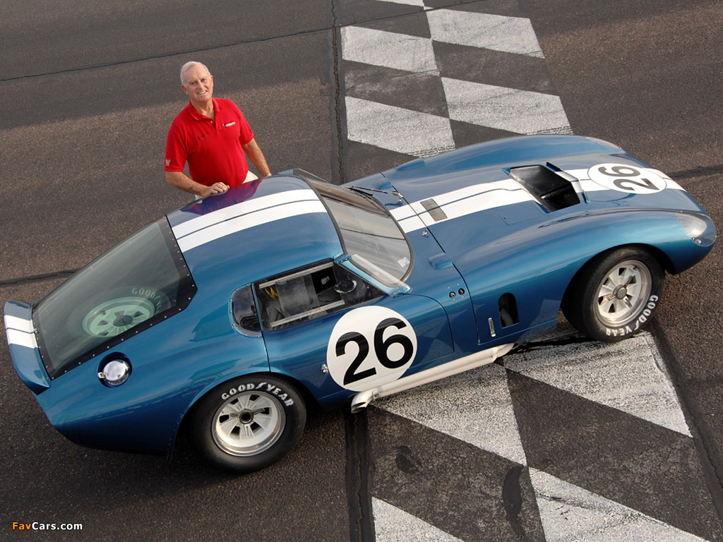 Pictures of Shelby Cobra Daytona Coupe 1964–65 (1024 x 768)