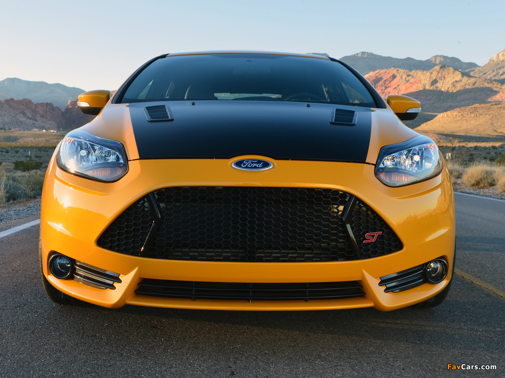 Images of Shelby Focus ST 2013 (1024 x 768)