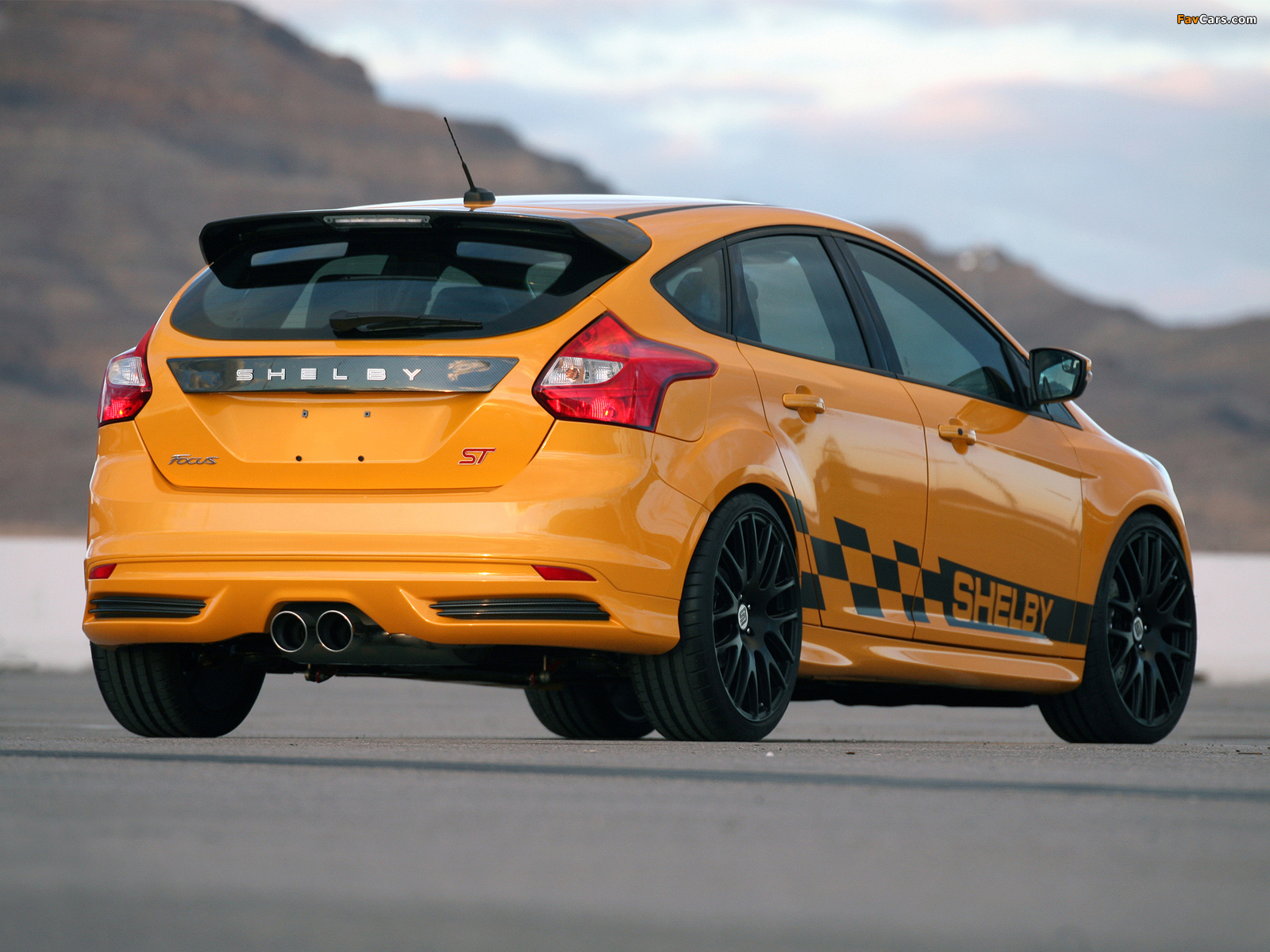 Shelby Focus ST 2013 wallpapers (1600 x 1200)