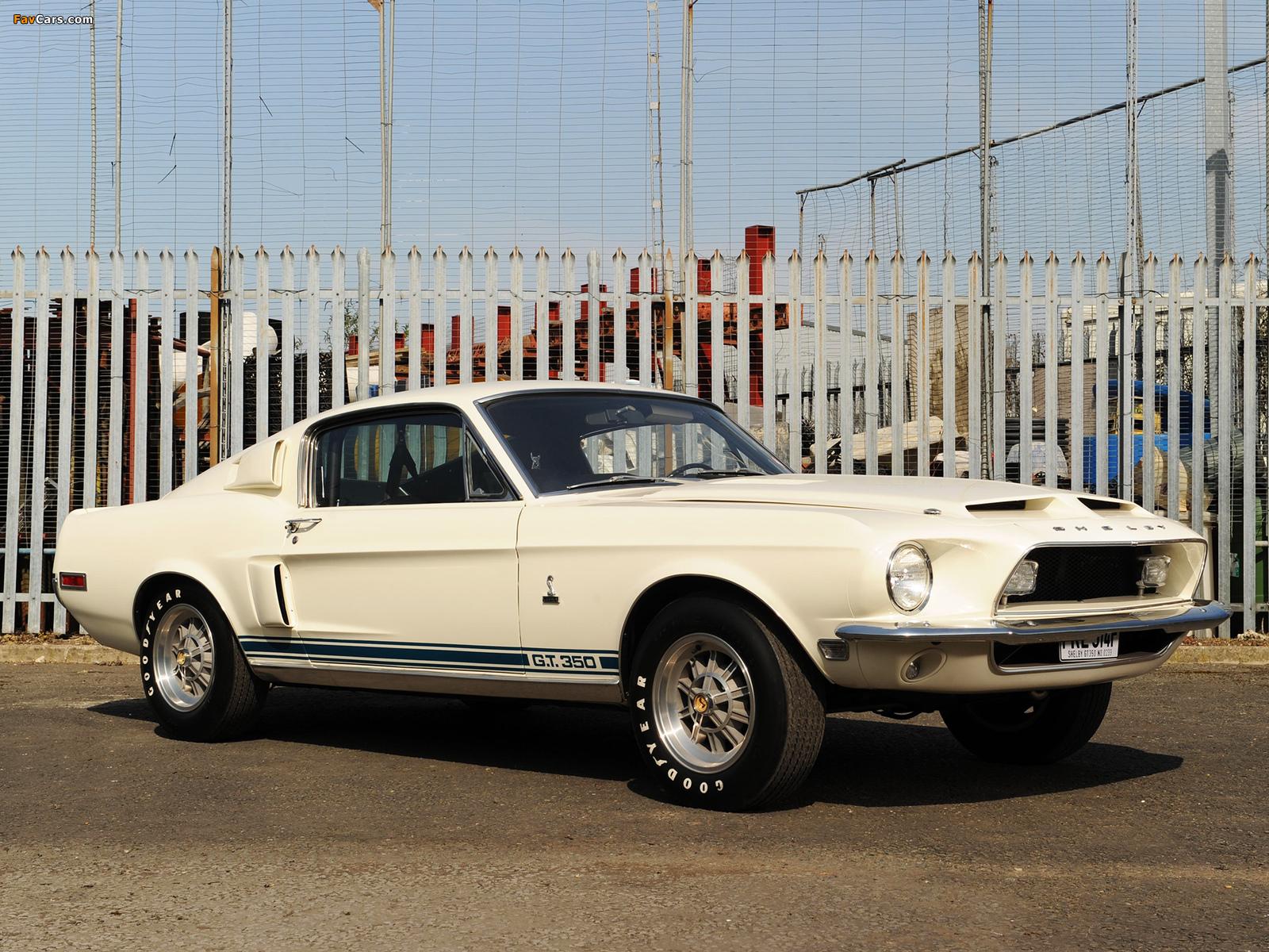 Shelby GT350 1968 photos (1600 x 1200)