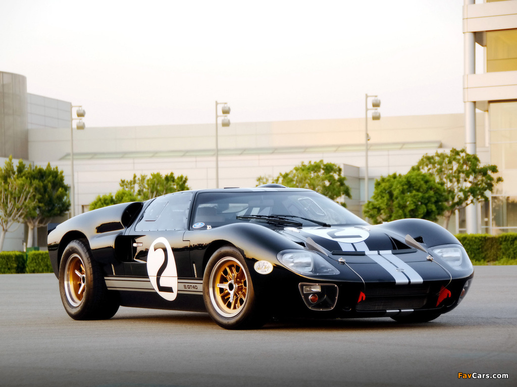Shelby 85th Commemorative GT40 2008 images (1024 x 768)