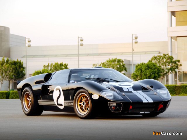 Shelby 85th Commemorative GT40 2008 images (640 x 480)