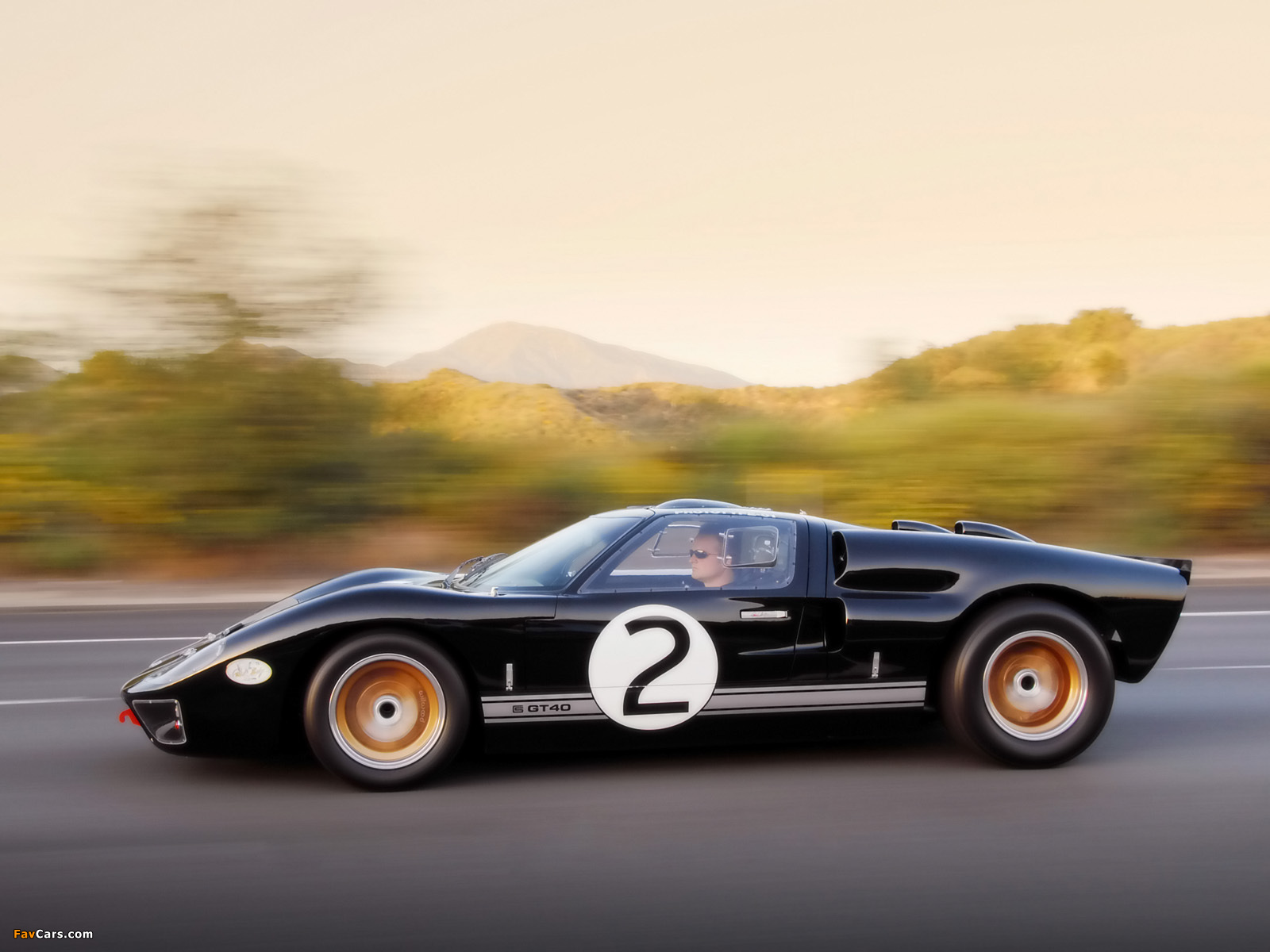 Shelby 85th Commemorative GT40 2008 photos (1600 x 1200)