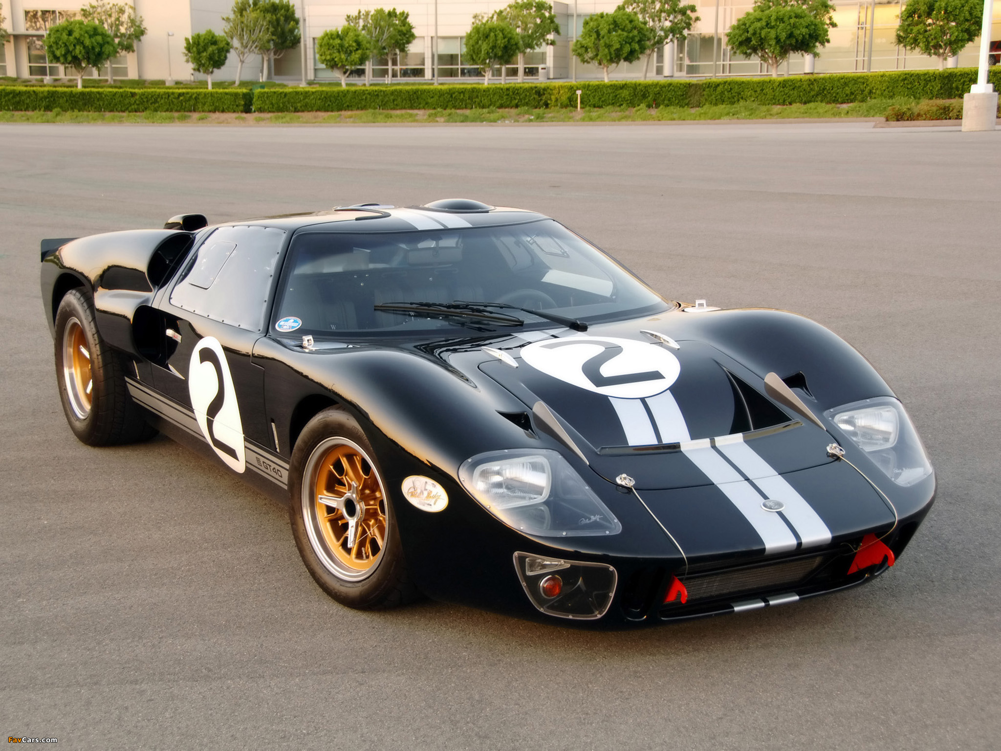 Shelby 85th Commemorative GT40 2008 pictures (2048 x 1536)