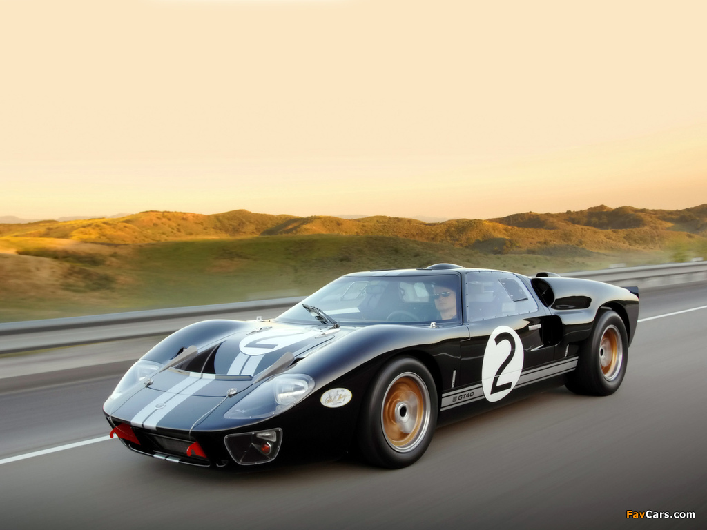 Shelby 85th Commemorative GT40 2008 wallpapers (1024 x 768)