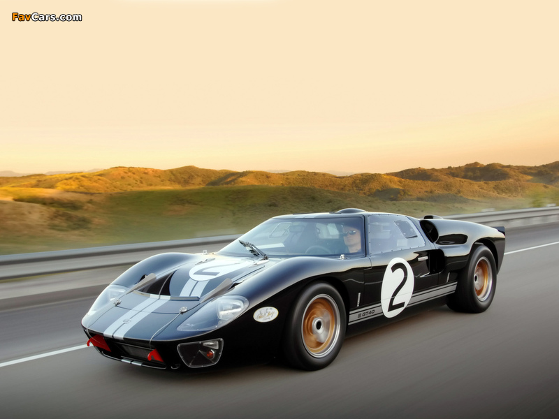 Shelby 85th Commemorative GT40 2008 wallpapers (800 x 600)