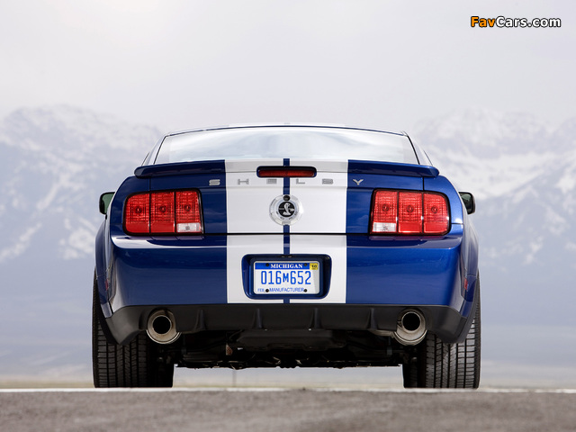Photos of Shelby GT500 KR 40th Anniversary 2008 (640 x 480)