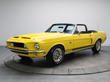 Pictures of Shelby GT500 KR Convertible 1968