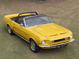 Shelby GT500 KR Convertible 1968 photos