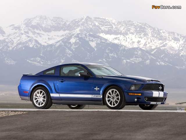 Shelby GT500 KR 40th Anniversary 2008 images (640 x 480)