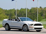 Images of Shelby GT500 Convertible 2005–08
