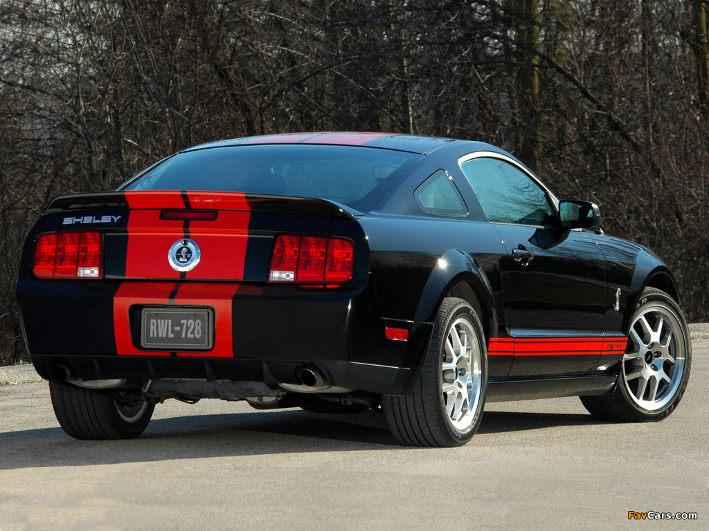 Shelby GT500 Red Stripe Appearance Package 2007 images (1024 x 768)