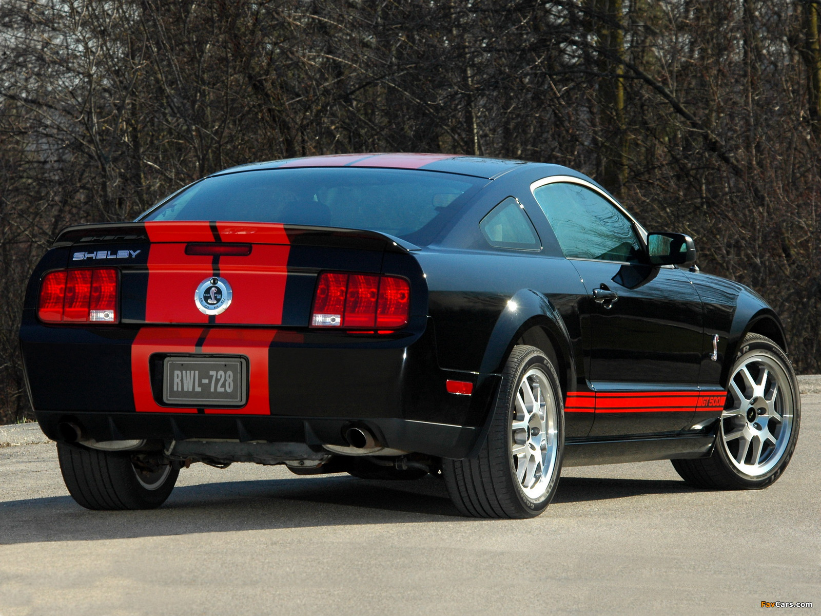 Shelby GT500 Red Stripe Appearance Package 2007 images (1600 x 1200)
