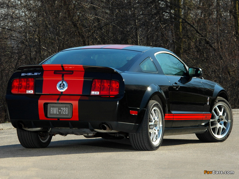 Shelby GT500 Red Stripe Appearance Package 2007 images (800 x 600)