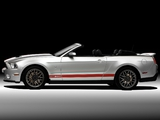 Shelby GT500 SVT Convertible 2010–11 wallpapers