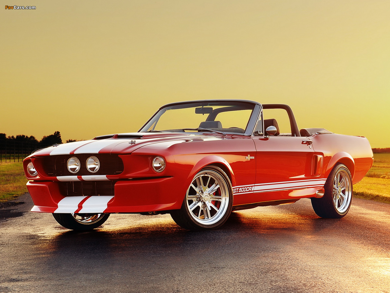 Classic Recreations Shelby GT500CR Convertible 2012 images (1280 x 960)