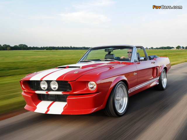 Classic Recreations Shelby GT500CR Convertible 2012 photos (640 x 480)
