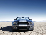 Shelby GT500 Convertible SVT 2009–10 wallpapers