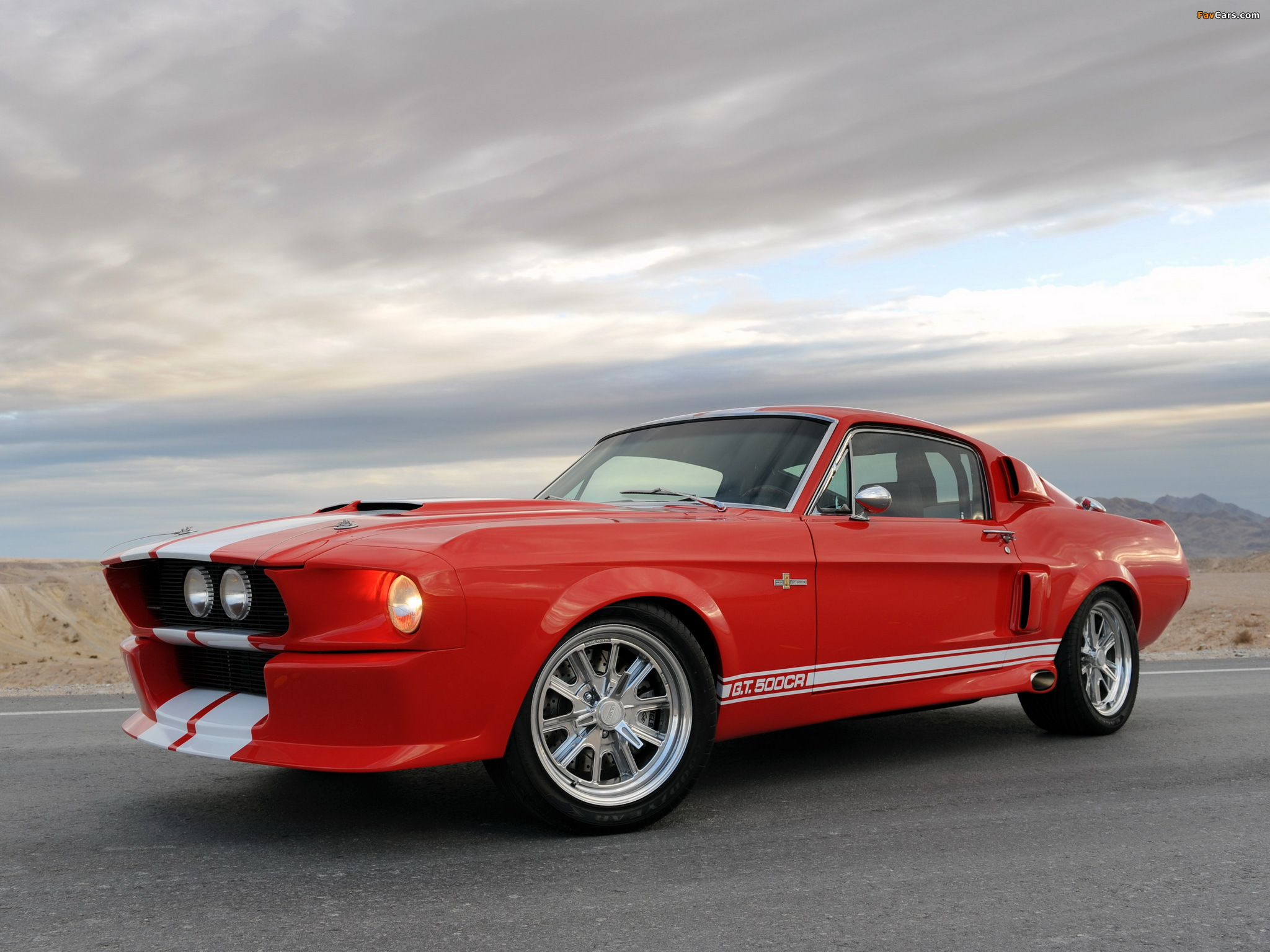 Classic Recreations Shelby GT500CR 2010 wallpapers (2048 x 1536)