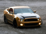 Geiger Shelby GT640 Golden Snake 2011 wallpapers