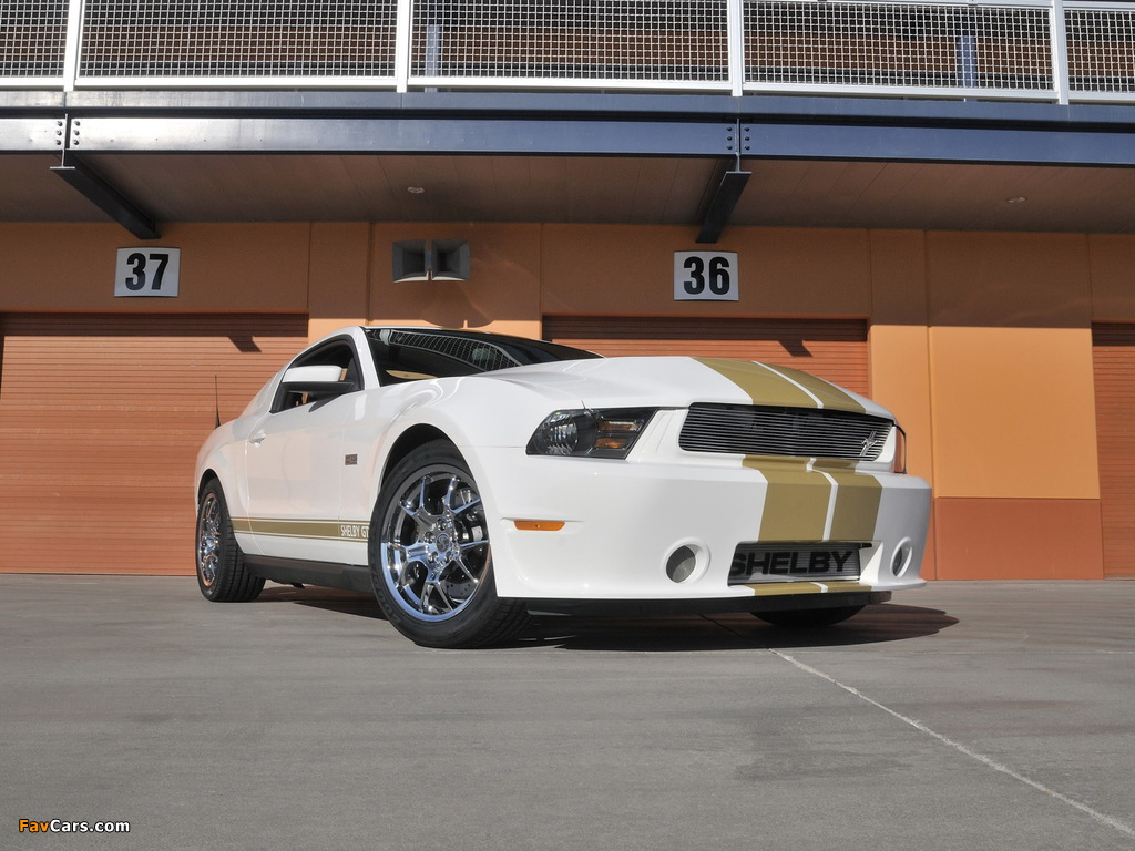 Shelby GTS 50th Anniversary 2012 wallpapers (1024 x 768)