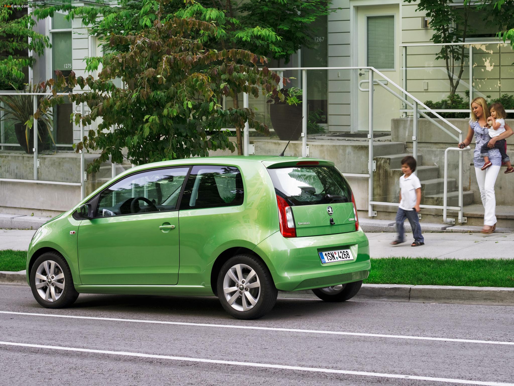 Images of Škoda Citigo 3-door 2012 (2048 x 1536)