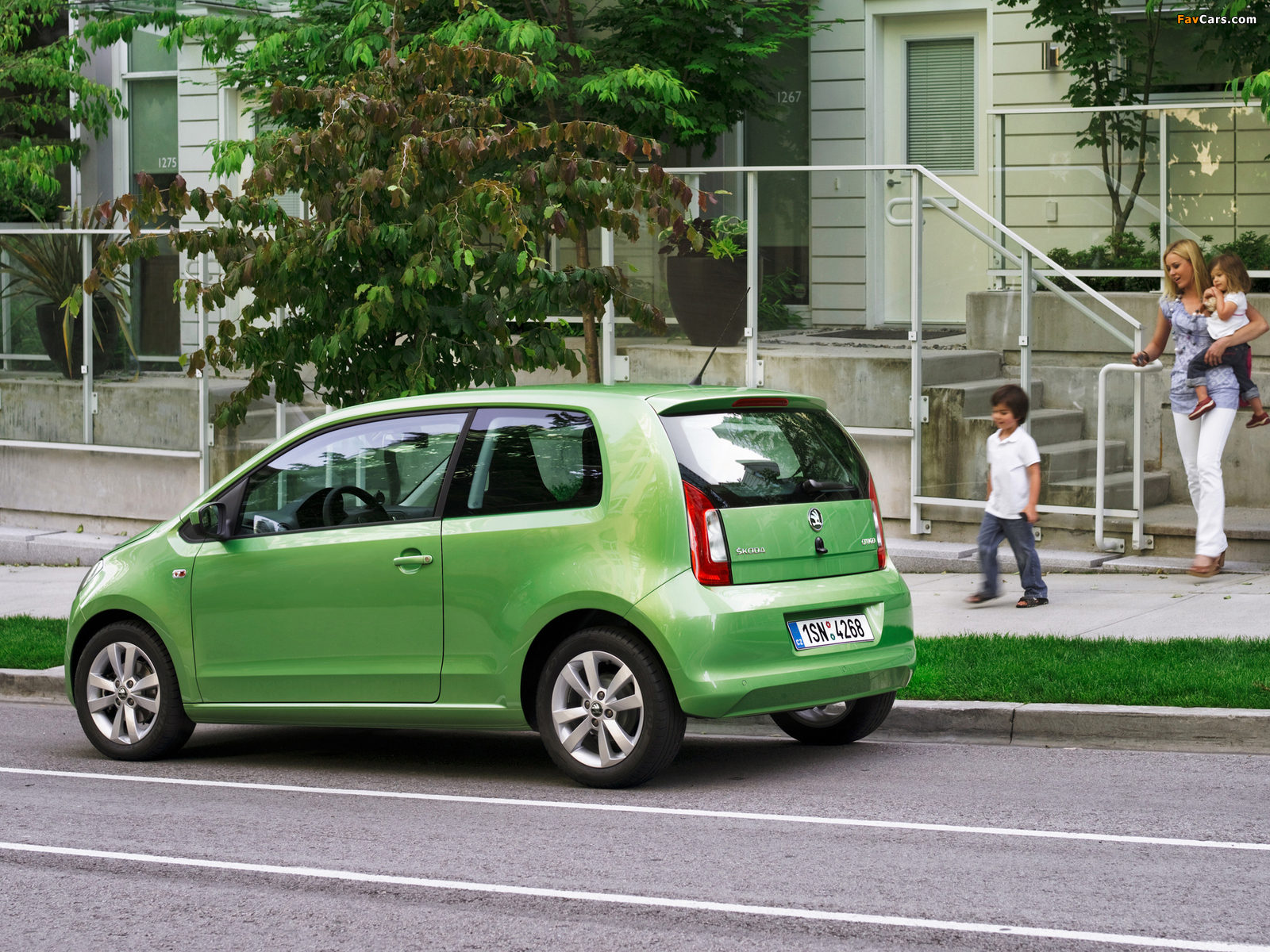Images of Škoda Citigo 3-door 2012 (1600 x 1200)
