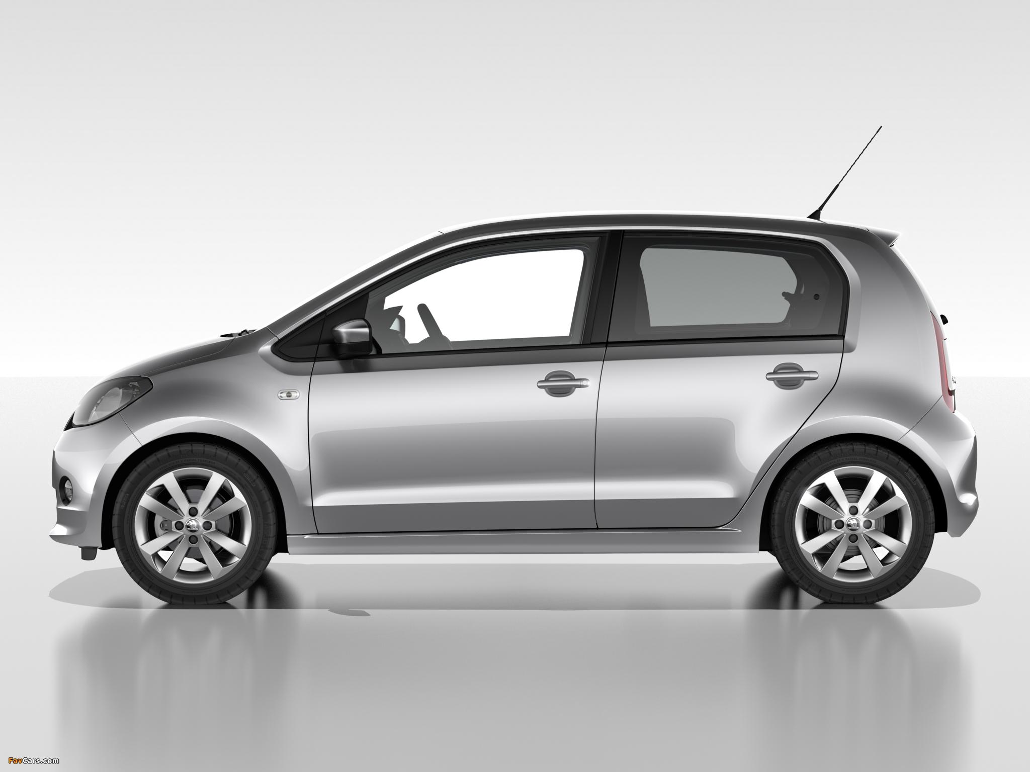 Pictures of Škoda Citigo 5-door 2012 (2048 x 1536)