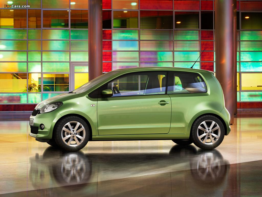 Škoda Citigo 3-door 2012 images (1024 x 768)