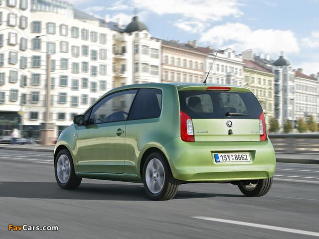 Škoda Citigo 3-door 2012 wallpapers (640 x 480)
