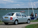 Images of Škoda Fabia Sedan UK-spec (6Y) 2001–05