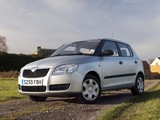 Photos of Škoda Fabia UK-spec (5J) 2007–10