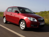Photos of Škoda Fabia (5J) 2007–10