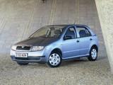 Škoda Fabia UK-spec (6Y) 1999–2005 photos